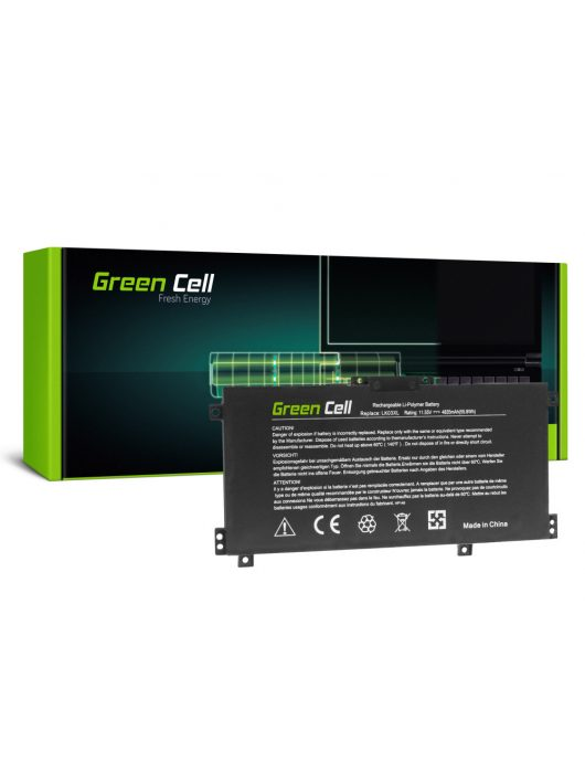 Green Cell Laptop akkumulátor / akku LK03XL HP Envy x360 15-BP 15-BP000NW 15-BP001NW 15-BP002NW 15-BP100NW 15-BP101NW 15-CN 17-AE 17-BW