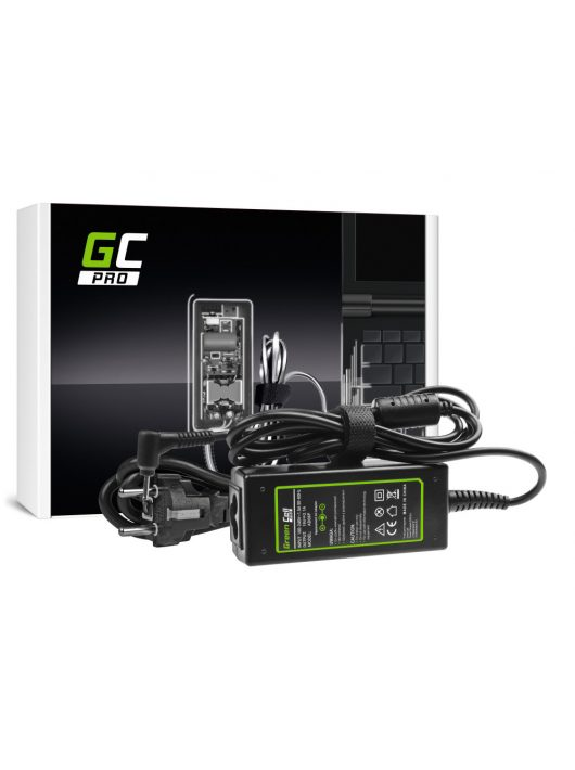 Green Cell PRO Töltő Asus Eee PC 1001PX 1001PXD 1005HA 1201HA 1201N 1215B 1215N X101 X101CH X101H 19V 2.1A 40