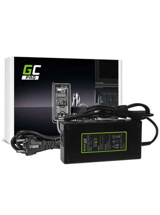 Green Cell PRO Töltő HP EliteBook 8530p 8530w 8540p 8540w 8560p 8560w 8570w 8730w ZBook 15 G1 G2 19.5V 7.7A 150W