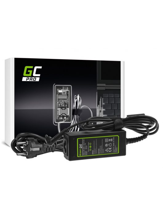 Green Cell PRO Töltő Asus X201E Vivobook F200CA F200MA F201E Q200E S200E X200CA X200M X200MA 19V 1.75A 33W