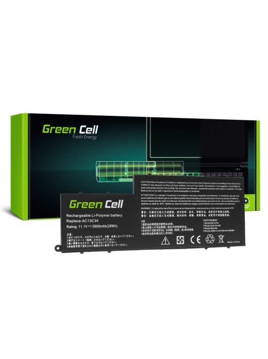 Green Cell Laptop akkumulátor / akku AC13C34 Acer Aspire E3-111 E3-112 E3-112M ES1-111 ES1-111M V5-122P V5-132P