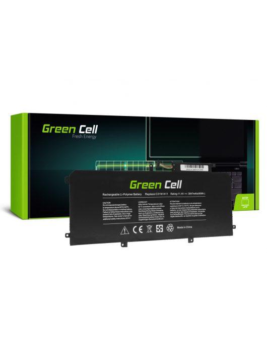 Green Cell Laptop akkumulátor / akku C31N1411 Asus ZenBook UX305C UX305CA UX305F UX305FA