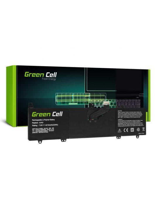 Green Cell Laptop akkumulátor / akku 0JV6J Dell Inspiron 11 3162 3164 3168 3169 3179 3180 3185