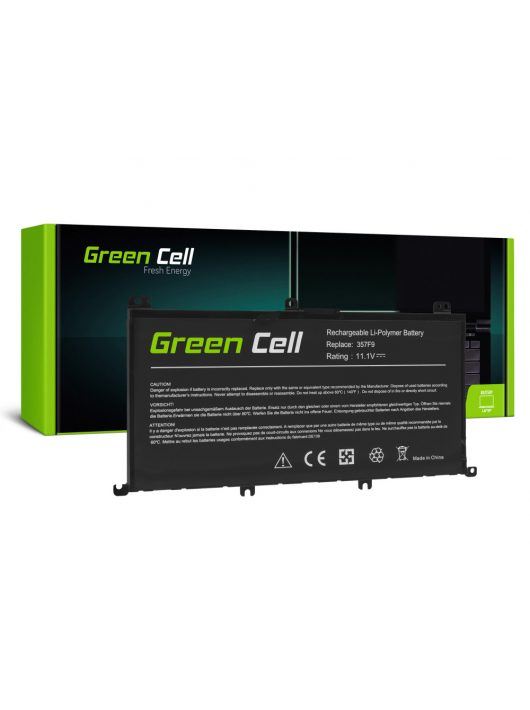 Green Cell Laptop akkumulátor / akku 357F9 Dell Inspiron 15 5576 5577 7557 7559 7566 7567