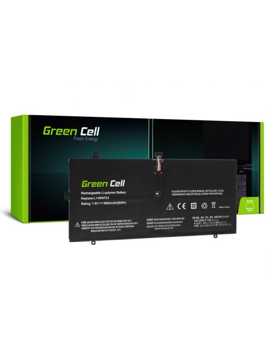 Green Cell Laptop akkumulátor / akku L14L4P24 L14M4P24 Lenovo Yoga 900-13ISK 900-13ISK2