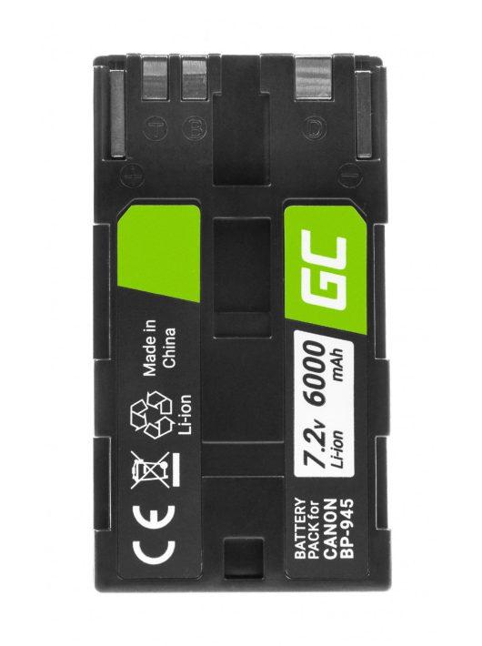 Digitális kamera akkumulátor / akku BP-80 BP-941 BP-945 Canon DM-XL1, ES5000, XL1 7.2V 6000mAh