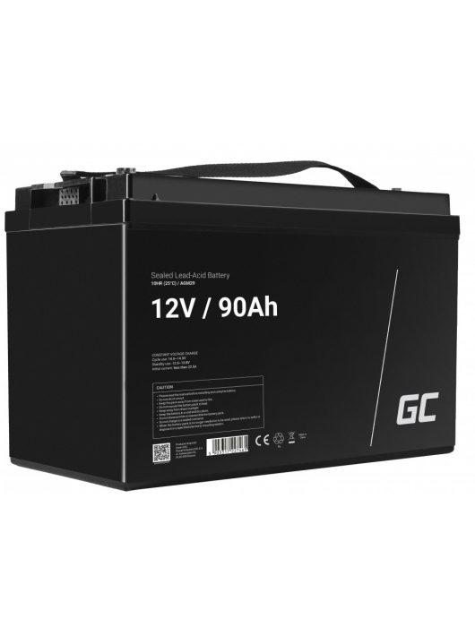 Akummulátor AGM Green Cell 12V 90Ah
