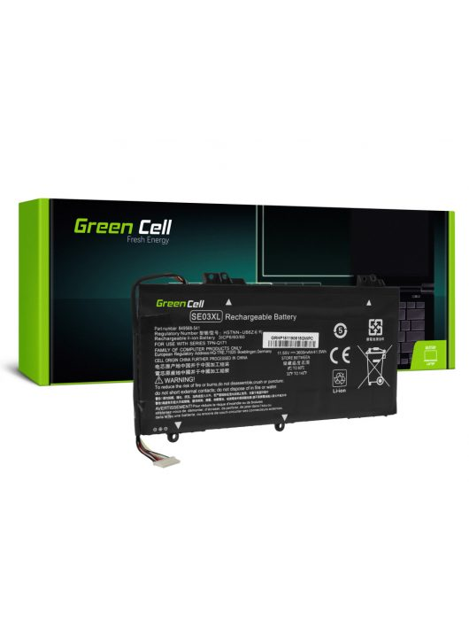 Green Cell Laptop akkumulátor / akku SE03XL HSTNN-LB7G HSTNN-UB6Z HP Pavilion 14-AL 14-AV