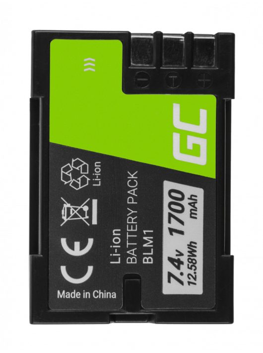 Digitális kamera akkumulátor / akku BLM-1 BLM1 Olympus CAMEDIA C-7070, E-300,volt E-500 7.4V 1700mAh CB83