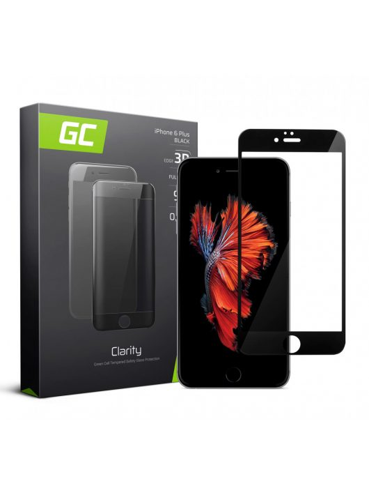 GC kijelzővédő üvegfólia Apple iPhone 6 Plus - Black