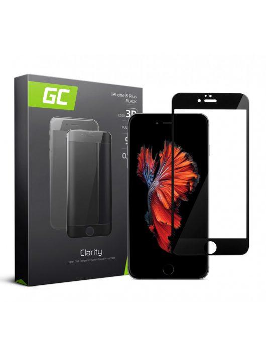 GC kijelzővédő üvegfólia Apple iPhone 6 Plus - Black GL06