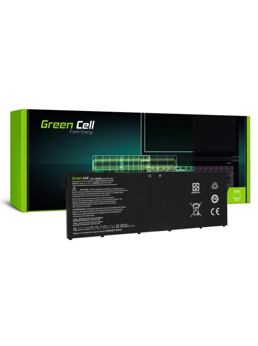 Green Cell Laptop akkumulátor / akku AC14B3K AC14B8K Acer Aspire 5 A515 A517 R15 R5-571T Spin 3 SP315-51 SP513-51 Swift 3 SF314-52