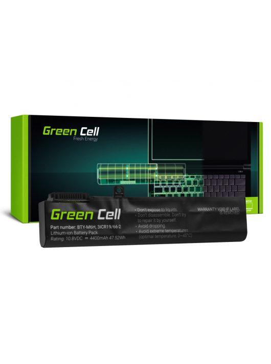 Green Cell Laptop akkumulátor / akku BTY-M6H MSI GE62 GE63 GE72 GE73 GE75 GL62 GL63 GL73 GL65 GL72 GP62 GP63 GP72 GP73 GV62 GV72 PE60 PE70