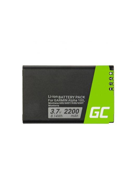 Green Cell GPS akkumulátor / akku 361-00053-00 GPS Garmin Alpha 100 Montana 600 610 650 680