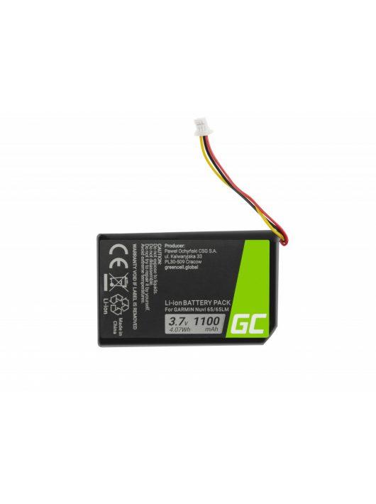 Green Cell GPS akkumulátor / akku 361-00056-01 GPS Garmin Nuvi 55 55LM 56 65 65LM 66 66LM