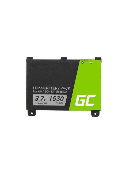 Green Cell E-Book akkumulátor / akku 170-1012-00 Amazon Kindle 2, Kindle DX