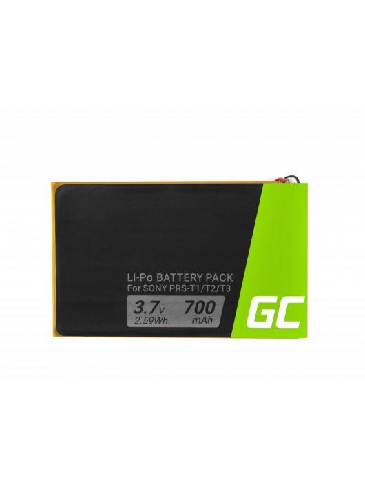 Green Cell E-Book akkumulátor / akku 1-853-104-11 Sony Portable Reader System PRS-T1, PRS-T2 oraz PRS-T3