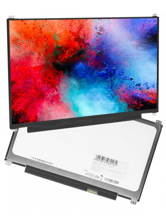 "Laptop kijelző Innolux N133BGE-EAB 13.3 laptophoz, 1366x768 HD, eDP 30 pin, matt"""