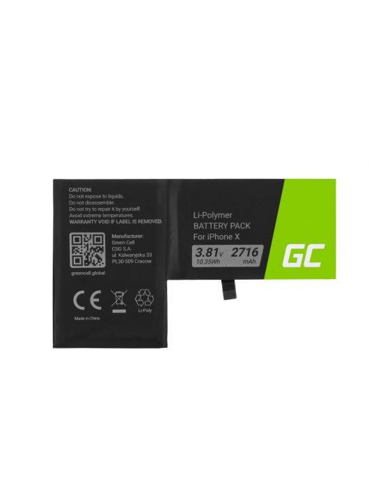 Green Cell Smartphone akkumulátor / akku iPhone X
