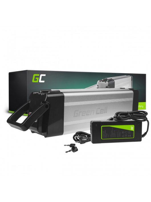 Green Cell Elektromos kerékpár akkumulátor / akku Silverfish 48V 14.5Ah 696Wh E-Bike Pedelec