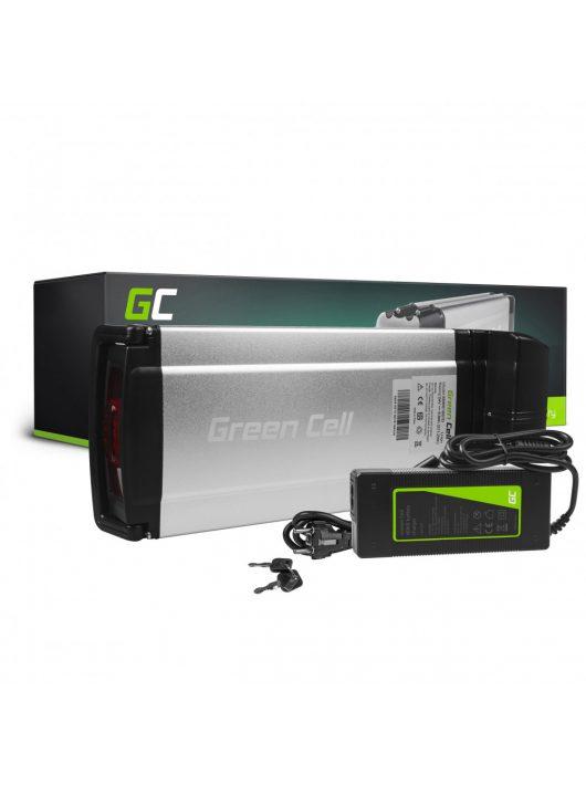 Green Cell Elektromos kerékpár akkumulátor / akku Rear Rack 24V 8.8Ah 211Wh E-Bike Pedelec