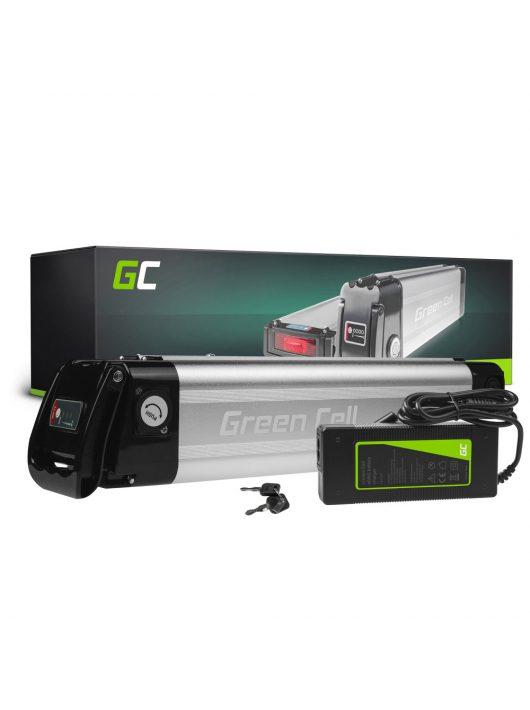 Green Cell Elektromos kerékpár akkumulátor / akku Silverfish 36V 10.4Ah 374Wh E-Bike Pedelec
