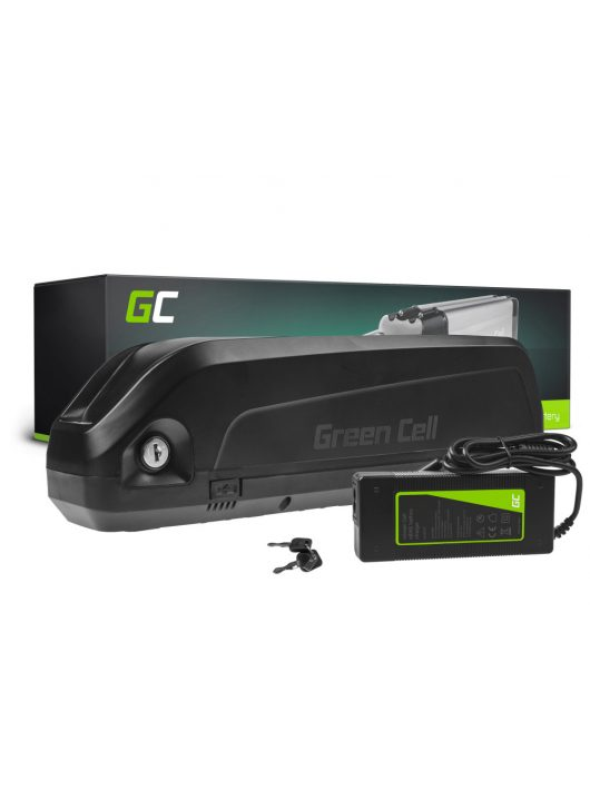 Green Cell Elektromos kerékpár akkumulátor / akku Silverfish 24V 15Ah 360Wh E-Bike Pedelec