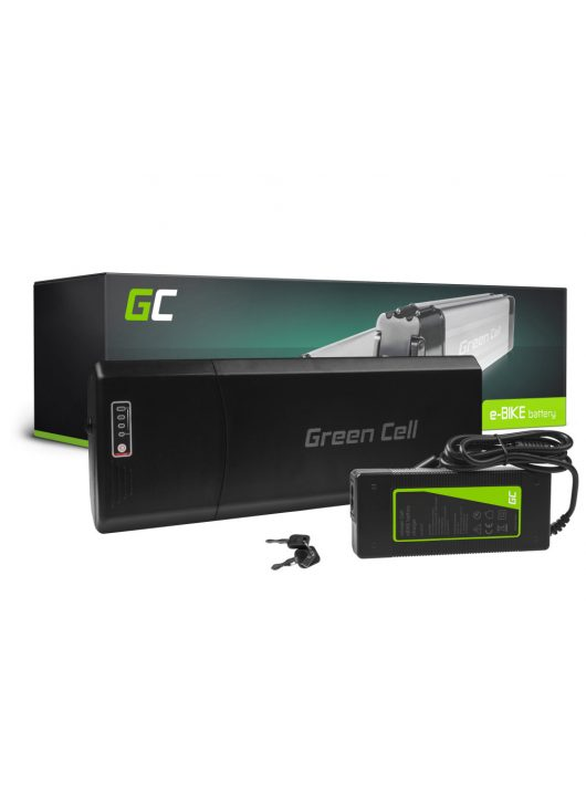 Elektromos kerékpár akkumulátor / akku 36V 12Ah 432Wh Rear Rack E-Bike Pedelec