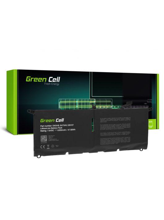 Green Cell Laptop akkumulátor / akku DXGH8 Dell XPS 13 9370 9380, Dell Inspiron 13 3301 5390 7390, Dell Vostro 13 5390