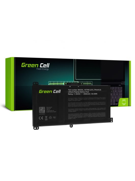 Green Cell Laptop akkumulátor / akku BK03XL HP Pavilion x360 14-BA 14-BA015NW 14-BA022NW 14-BA024NW 14-BA102NW 14-BA104NW