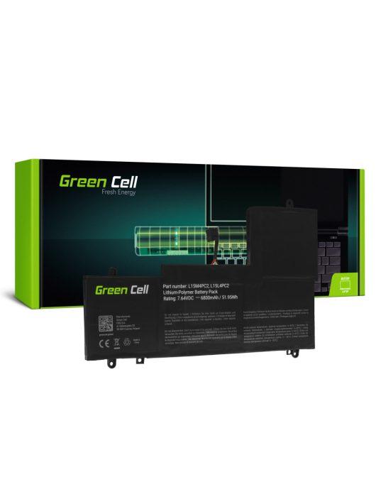 Green Cell Laptop akkumulátor / akku L15L4PC2 L15M4PC2 Lenovo Yoga 710-14 710-14IKB 710-14ISK 710-15 710-15IKB 710-15ISK