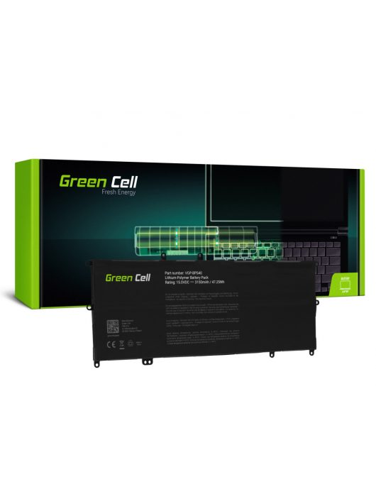 Green Cell Laptop akkumulátor / akku VGP-BPS40 Sony Vaio Fit Multi-Flip 14A SVF14N SVF14N2J2ES 15A SVF15N SVF15N190X SVF15N2S2ES SVF15N2Z2EB
