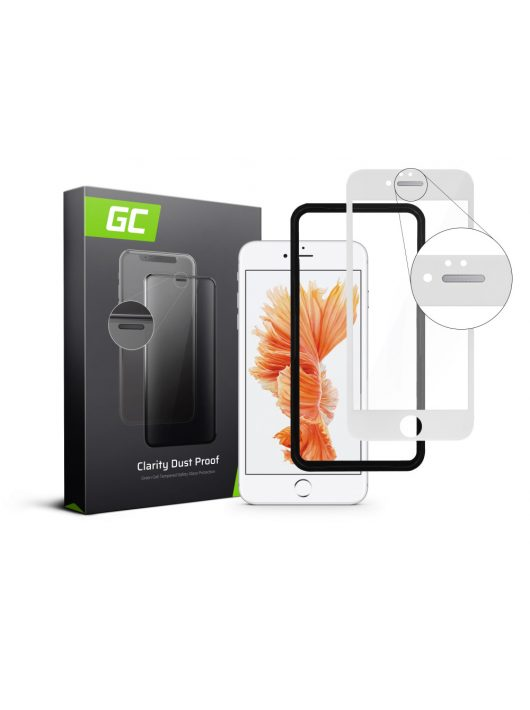 GC Clarity Dust Proof Screen Protector for Apple iPhone 6/6S Plus - White
