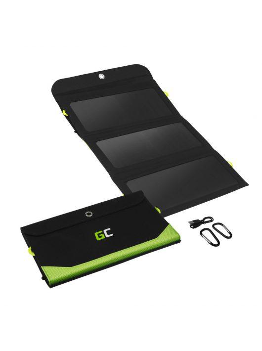 Szolár Panel, Green Cell GC SolarCharge 21W töltő 6400mAh power bank funkcióval