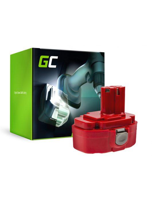 Green Cell akkumulátor / akku 1822 1833 PA18 Green Cell (2Ah 18V) Makita 4334D 6343D 6347D 6349D 6390D 8390D 8391D