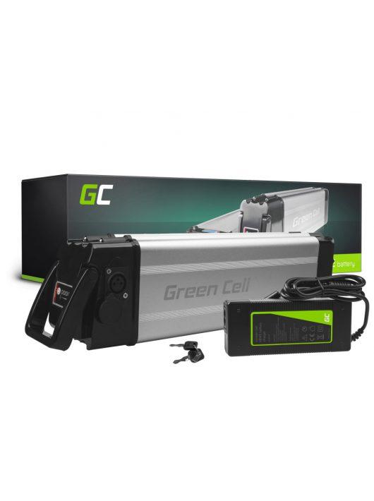 Green Cell Elektromos kerékpár akkumulátor / akku 24V 12Ah 288Wh Silverfish E-Bike Pedelec