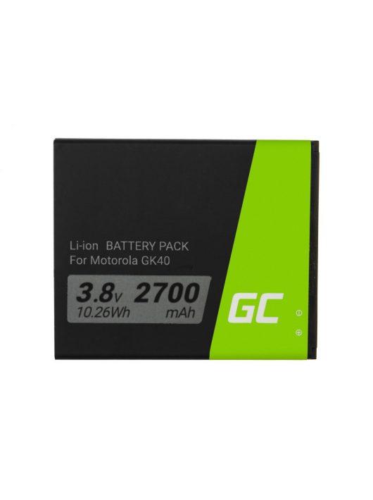 Green Cell Smartphone akkumulátor / akku GK40 Battery Motorola Moto G4 G5 E3 E4 E5