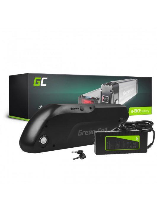 Green Cell Elektromos kerékpár akkumulátor / akku 36V 13Ah Down Tube E-Bike Pedelec