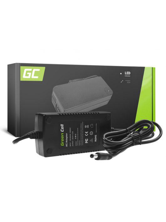 Green Cell 29.4V 2A Elektromos kerékpár töltő 24V Li-Ion akkumulátorhoz / akkuhoz