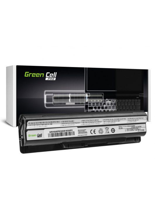Green Cell Pro Laptop akkumulátor / akku BTY-S14 BTY-S15 MSI CR650 CX650 FX400 FX600 FX700 GE60 GE70 GP60 GP70 GE620