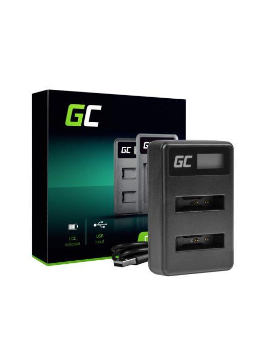 Green Cell akkumulátor / akku dupla Töltő LI-50C Olympus LI-50B, SZ-15 SZ-16 Tough 6000 8000 TG-810 TG-820 TG-830 TG-850 VR-370 XZ-1
