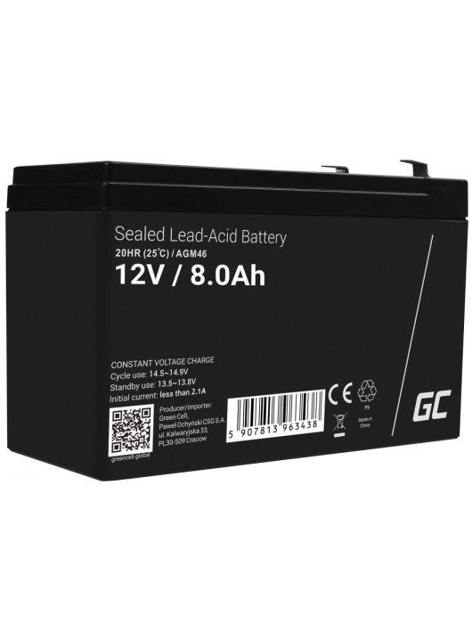 AGM akkumulátor/akku 12V 8Ah