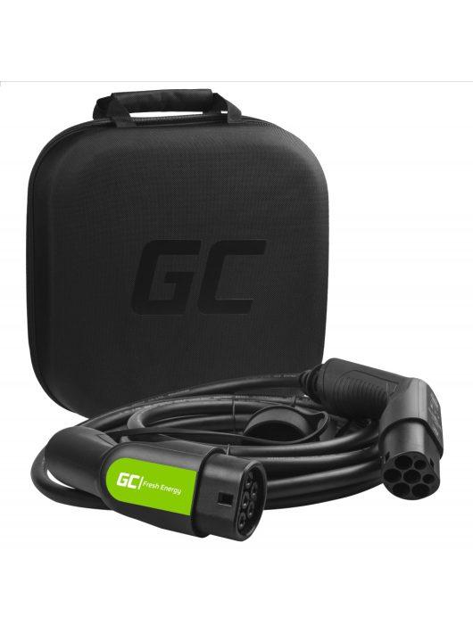Green Cell Type 2 kábel elektromos autók töltésére (7 m, 11 kW, 16A)