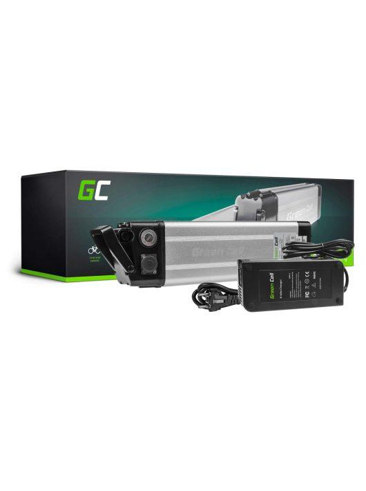 Elektromos kerékpár akkumulátor / akku 24V 8.8Ah Silverfish Type E-Bike Pedelec töltővel EBIKE21STD