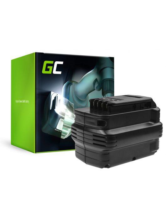 Green Cell akkumulátor / akku (3Ah 24V) DE0240 DE0241 DE0243 DeWalt DC222KA DC223KA DC224KA DW006 DW008 DW017