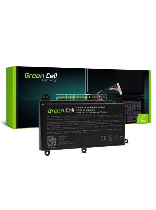 Green Cell Pro Laptop akkumulátor / akku AS15B3N Acer Predator 15 G9-591 G9-592 G9-593 17 G9-791 G9-792 G9-793 17X GX-791 GX-792 21X