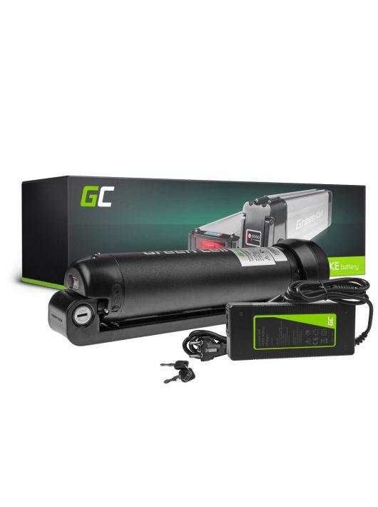Elektromos kerékpár akkumulátor / akku 24V 7.8Ah Li-Ion Bottle Type E-Bike töltővel EBIKE62STD
