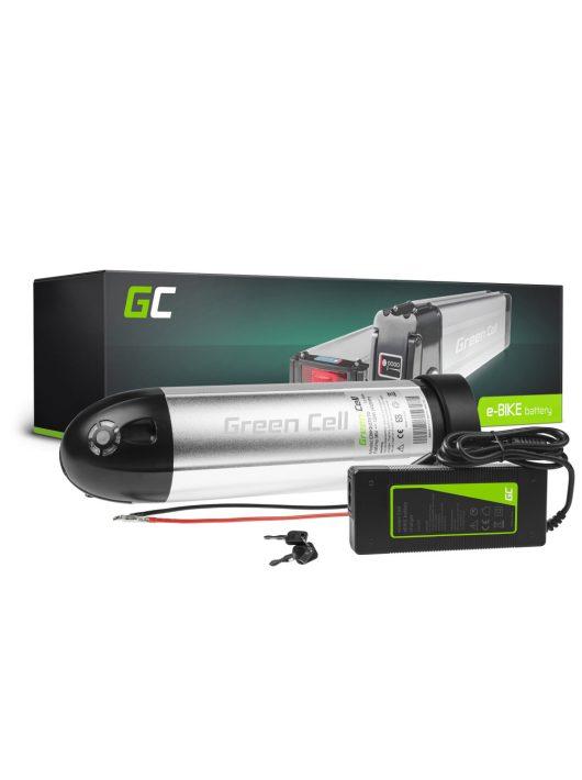 Elektromos kerékpár akkumulátor / akku 36V 8.8Ah Li-Ion Bottle Type E-Bike töltővel EBIKE63STD
