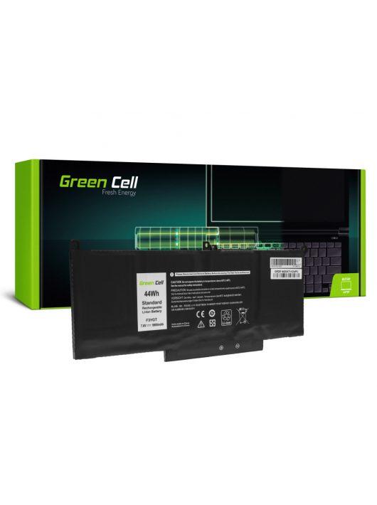 Green Cell Pro Laptop akkumulátor / akku F3YGT Dell Latitude 7280 7290 7380 7390 7480 7490