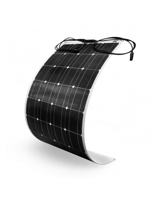 Felxibilis Solar panel Solar modul Green Cell GC SolarFlex 100W / Monokristályos napelem / 12V 18V / ETFE / MC4